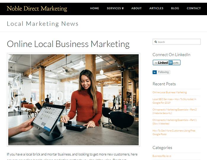 Local Online Marketing Blog