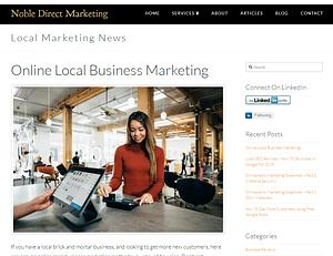 Local Online Marketing Blog